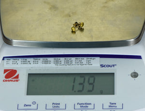 #543B Large Alaskan BC Natural Gold Nugget 32.50 Grams Genuine