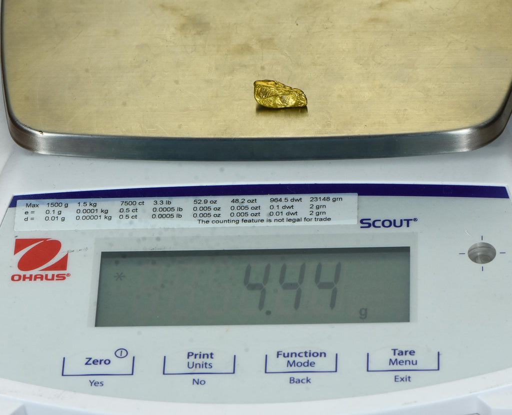 #839 Australian Natural Gold Nugget 1.27 Grams Genuine