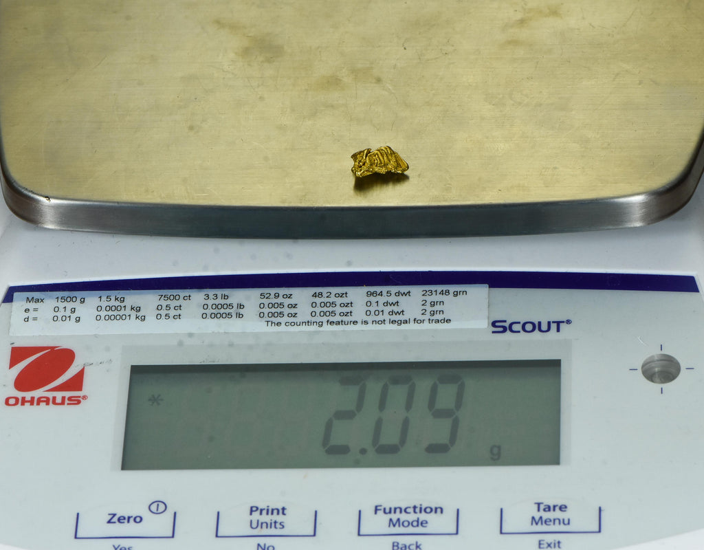#859 Australian Natural Gold Nugget 1.15 Grams Genuine