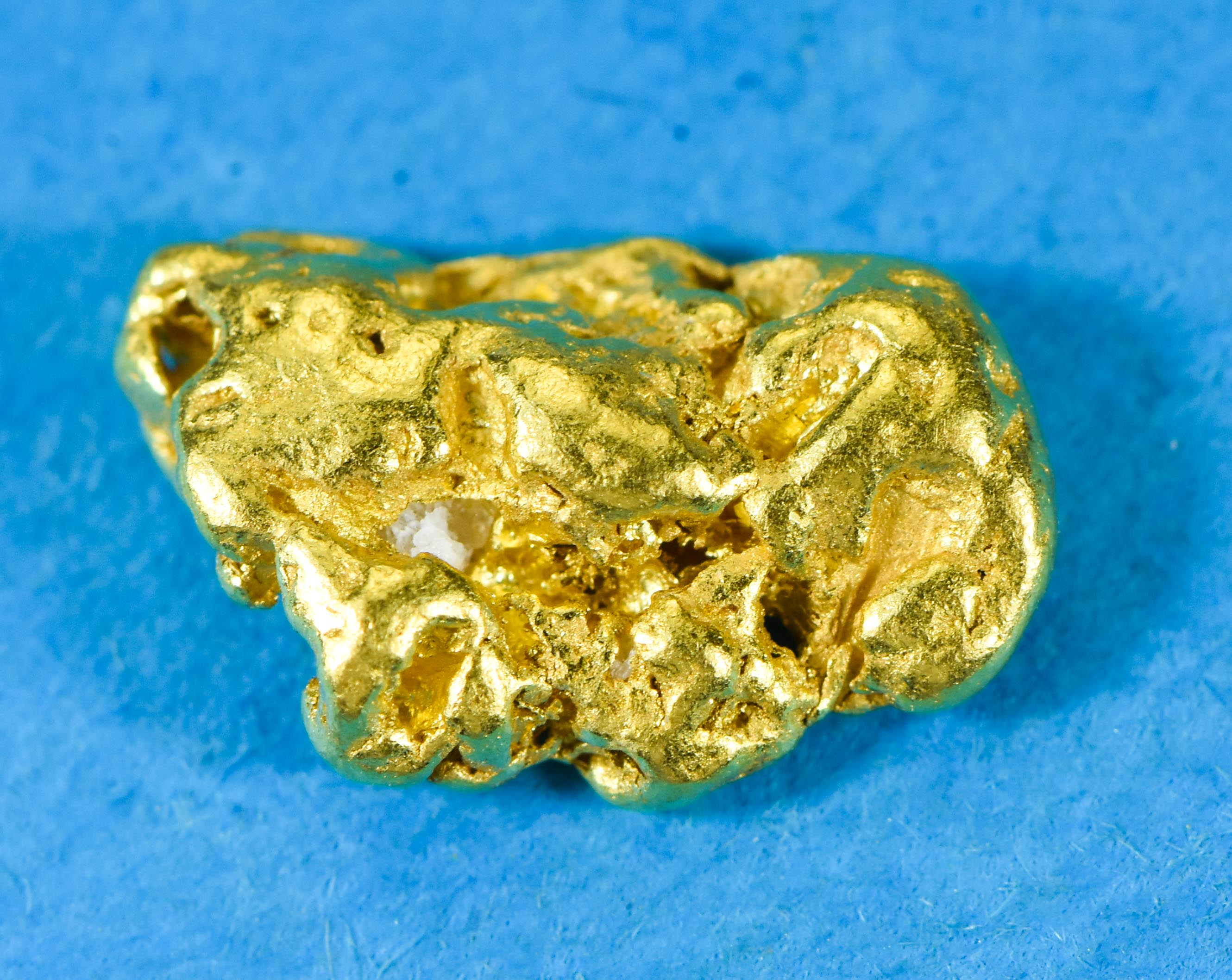 "L-94 Alaskan Yukon BC Leaf Gold Nugget "" Rare Genuine"" 4.11 Grams"