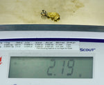 #1025 Australian Natural Gold Nugget 3.73 Grams Genuine