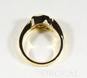 "Gold Quartz Ladies Ring ""Orocal"" RLL1090NQ Genuine Hand Crafted Jewelry - 14K Gold Casting"