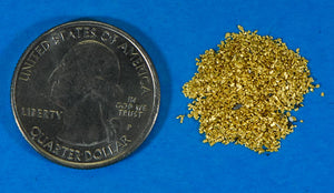 Sonora Gold Nuggets 3 Gram of #50 Mesh Gold Authentic Natural