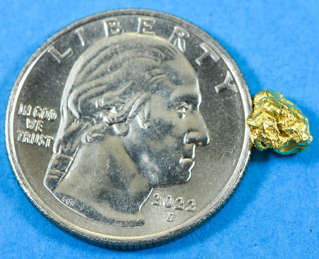 #1027 Australian Natural Gold Nugget 2.92 Grams Genuine