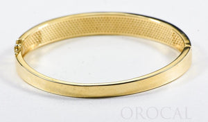 "Gold Quartz Bracelet ""Orocal"" BBDL132D63Q Genuine Hand Crafted Jewelry - 14K Gold Casting"