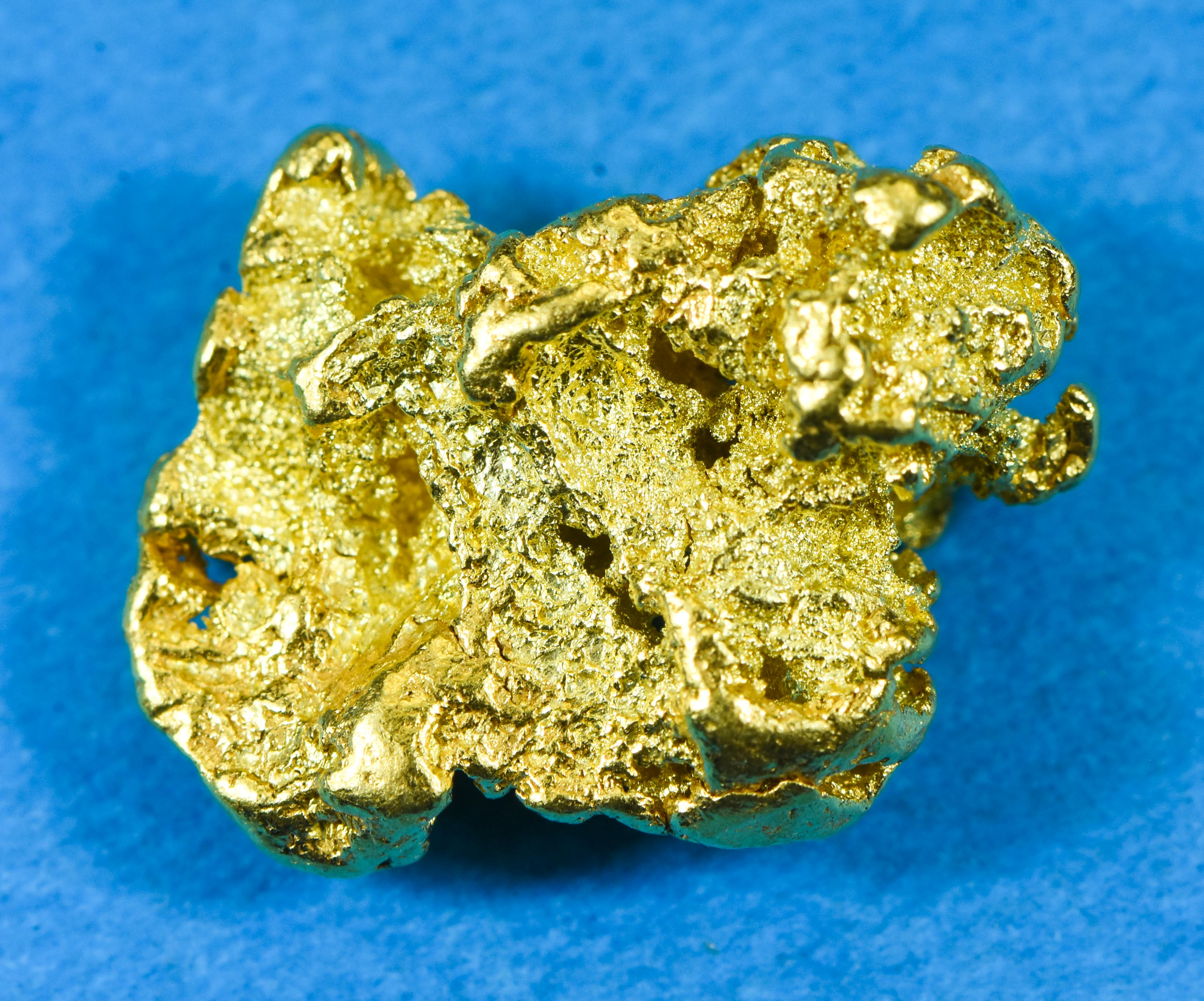 #203 Alaskan BC Natural Gold Nugget 2.66 Grams Genuine