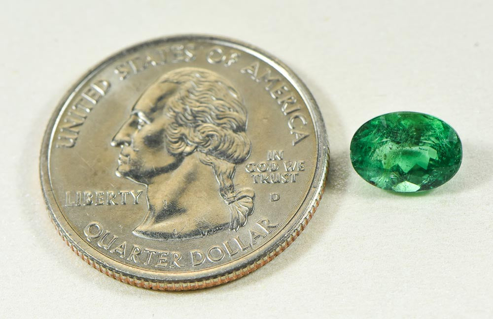 E2-Brazilian Natural Emerald 1.93ct