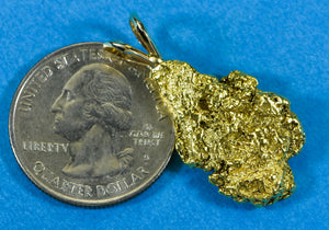 "Gold Quartz Ladies Ring ""Orocal"" RL1174DQ Genuine Hand Crafted Jewelry - 14K Gold Casting"