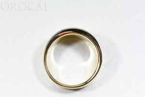 "Gold Quartz Ring ""Orocal"" RM883D20Q Genuine Hand Crafted Jewelry - 14K Gold Casting"
