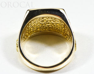 "Gold Quartz Ring ""Orocal"" RM1004Q Genuine Hand Crafted Jewelry - 14K Gold Casting"