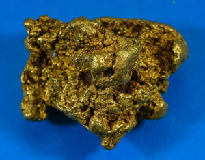 "S-2 ""Sonora Gold Nugget "" - Genuine - 141.13 Grams 4.53 Troy OZ"