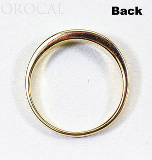 "Gold Quartz Ladies Ring ""Orocal"" RL653OLQ Genuine Hand Crafted Jewelry - 14K Gold Casting"