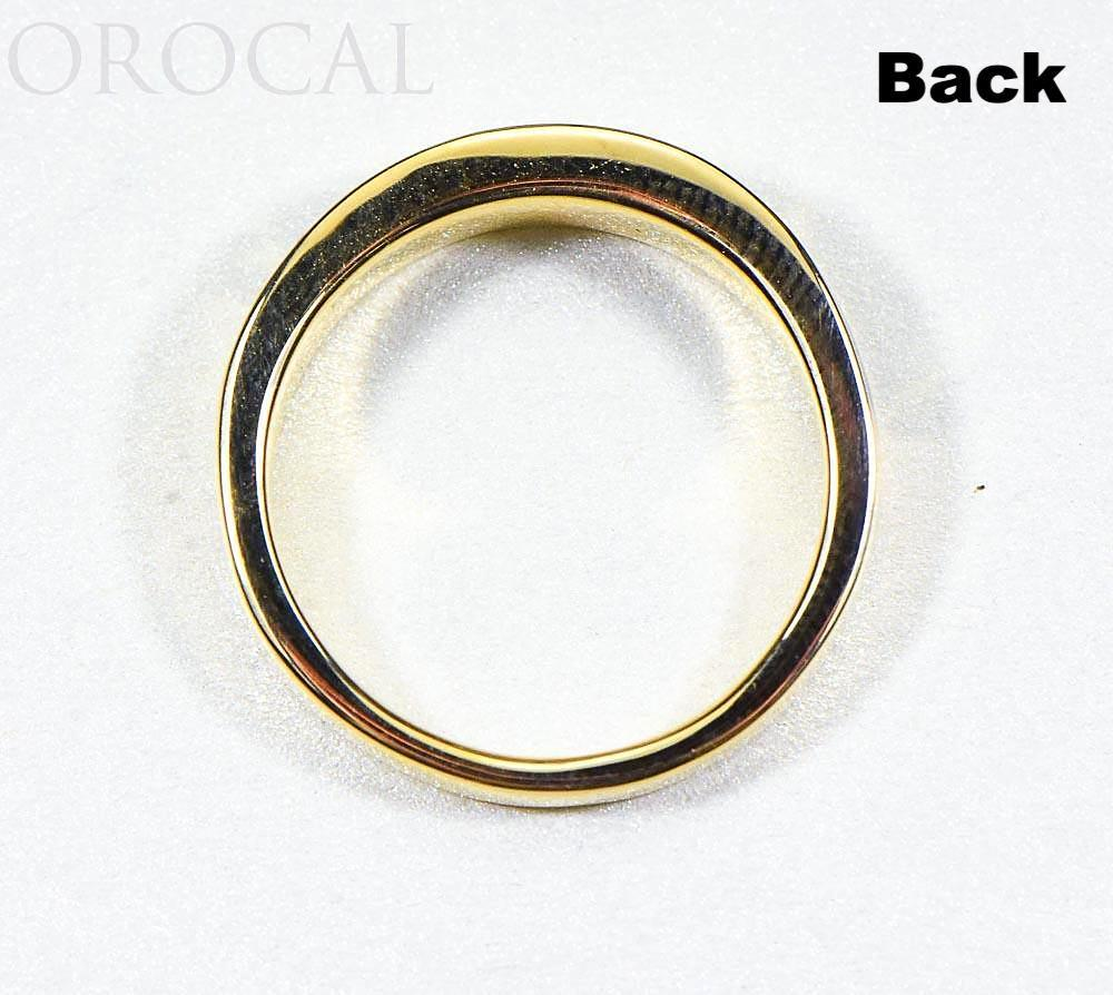 "Gold Quartz Ladies Ring ""Orocal"" RL733D8Q Genuine Hand Crafted Jewelry - 14K Gold Casting"