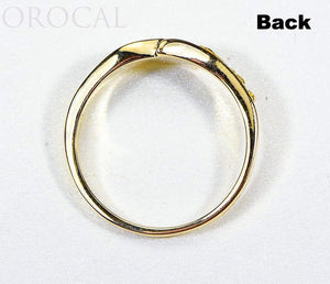 "Gold Quartz Ladies Ring ""Orocal"" RL870NQ Genuine Hand Crafted Jewelry - 14K Gold Casting"