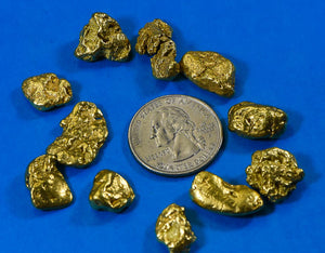 Natural Gold Nuggets for Sale