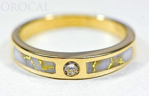 "Gold Quartz Ladies Ring ""Orocal"" RL728WD7Q Genuine Hand Crafted Jewelry - 14K Gold Casting"
