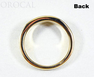 "Gold Quartz Ladies Ring ""Orocal"" RL732D12Q Genuine Hand Crafted Jewelry - 14K Gold Casting"