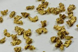 Australian Natural Gold Nugget Lot 2-5 Gram Pieces/ 62.20 Total- 2 Troy Oz. Aussie Nuggets Grams