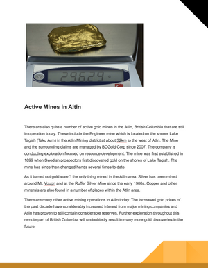 Personalized Alaskan Yukon Bc Gold Nugget Story & Appraisal Light Up Collectors Box Nuggets Plus 50