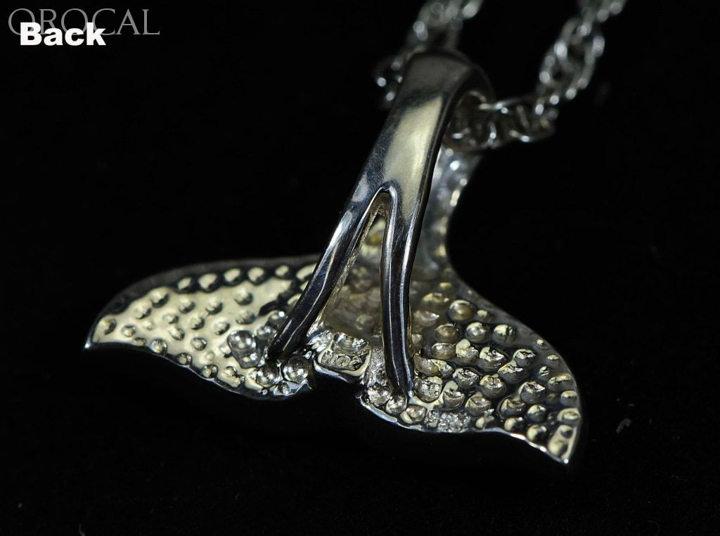 Gold Nugget Pendant Whales Tail - Sterling Silver Special Pwt32Nssx Hand Made Jewelry Specials