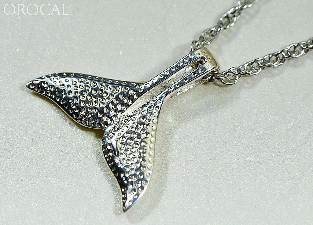 Gold Nugget Pendant Whales Tail - Sterling Silver Special Pwt44Lnss Hand Made Jewelry Specials