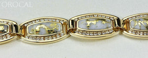 Gold Quartz Bracelet Orocal Bdlov6Mmd210Q Genuine Hand Crafted Jewelry - 14K Casting