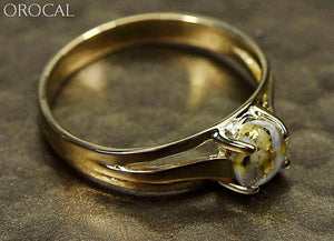 Gold Quartz Ring Orocal Rl787Q Genuine Hand Crafted Jewelry - 14K Casting