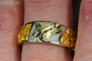Gold Quartz Ring Orocal Rm731D14Nq Genuine Hand Crafted Jewelry - 14K Casting