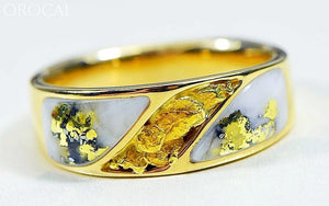 Gold Quartz Ring Orocal Rm900Nq Genuine Hand Crafted Jewelry - 14K Casting