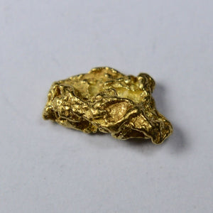 Alaskan-Yukon Bc Gold Rush Natural Nugget 0.34 Grams Genuine Alaska .10-.34