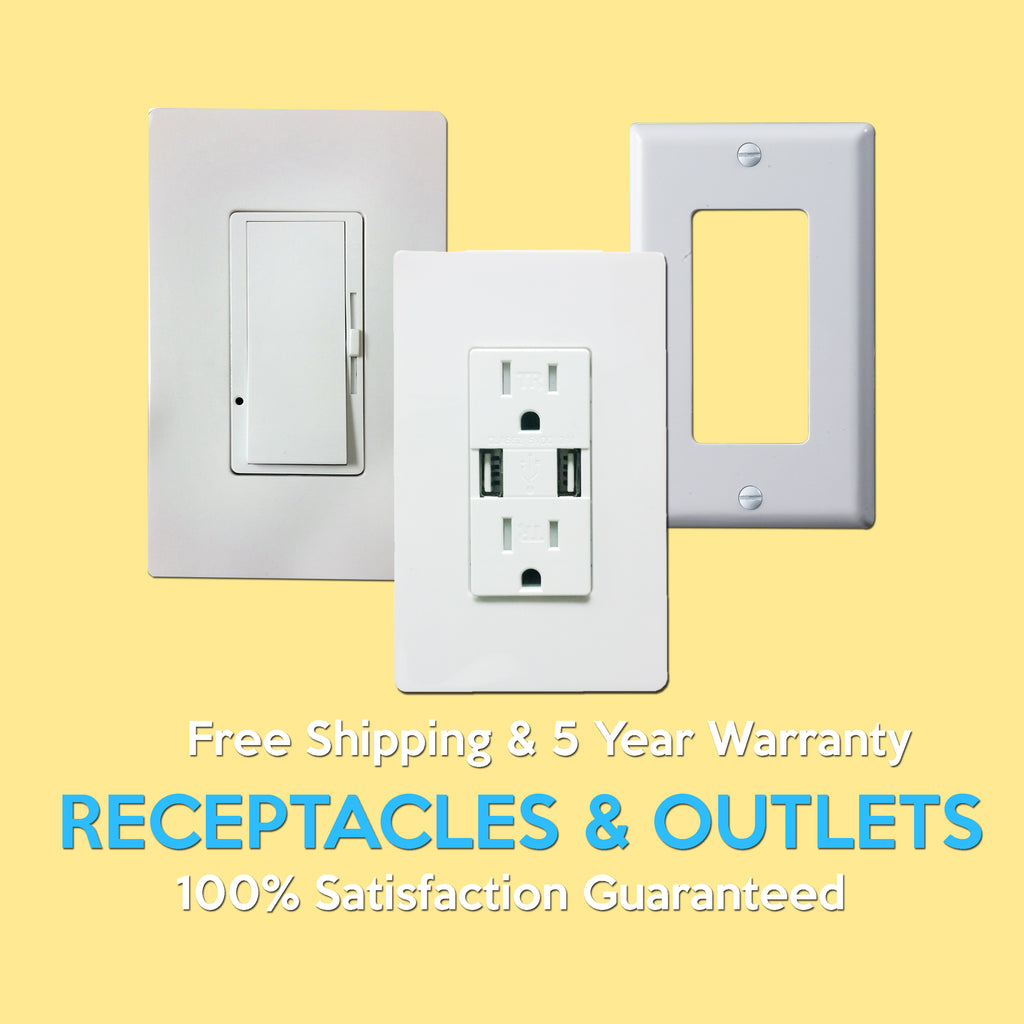Receptacles & Outlets – lumentechlightstore
