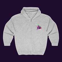 Aurora Bear Featured Zip-up Hoodie