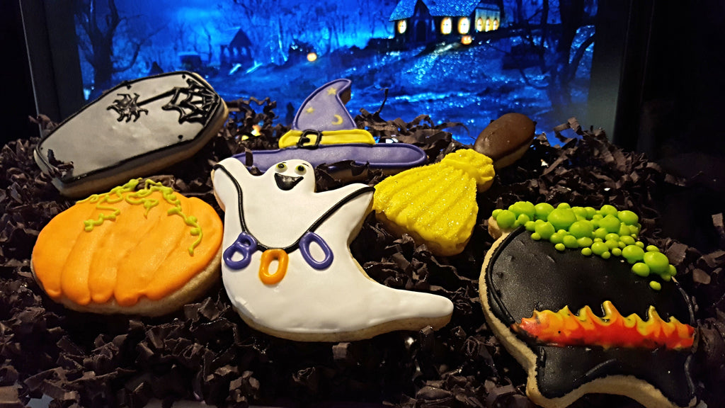 Luscious Dessert Halloween Sugar Cookies