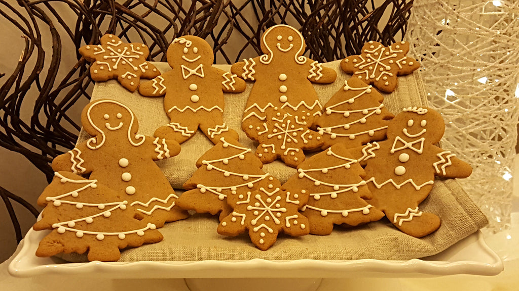 Luscious Desserts Classic Gingerbread Cookies