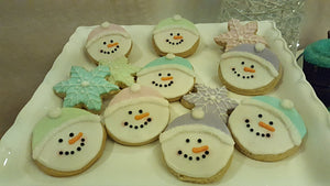 Luscious Desserts Frosty Winter Cookies