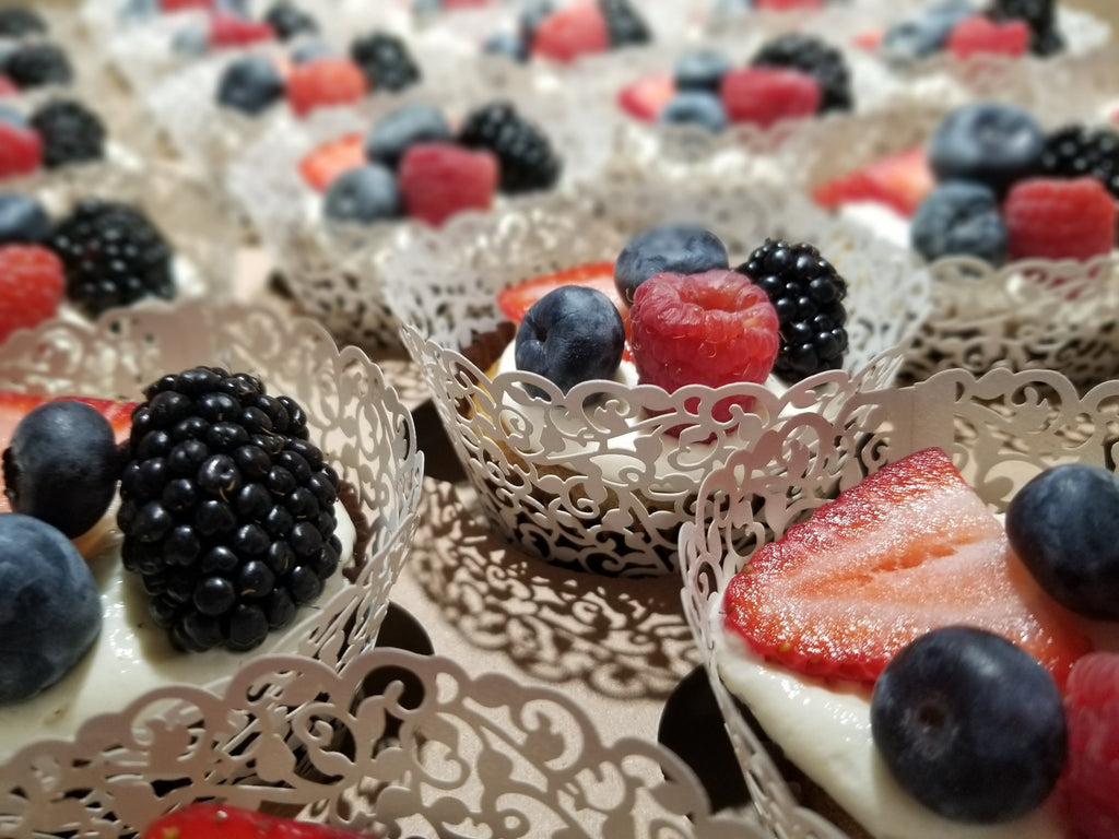 Luscious Desserts Fruity Cupcakes