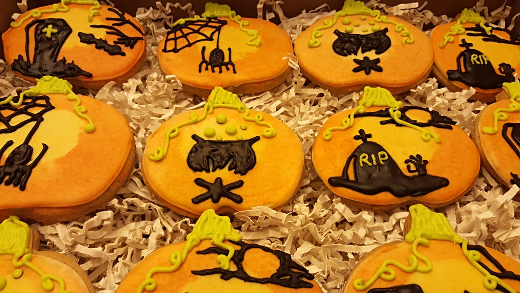 Luscious Desserts Halloween Sugar Cookies