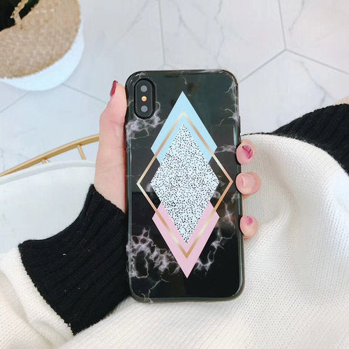 The Pastel Diamond Case, www.kaleicases.com, Scottsdale, AZ, Luxury iPhone Cases, Fast Shipping