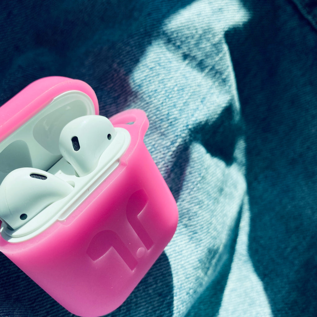 Soft Pink AirPod Holder