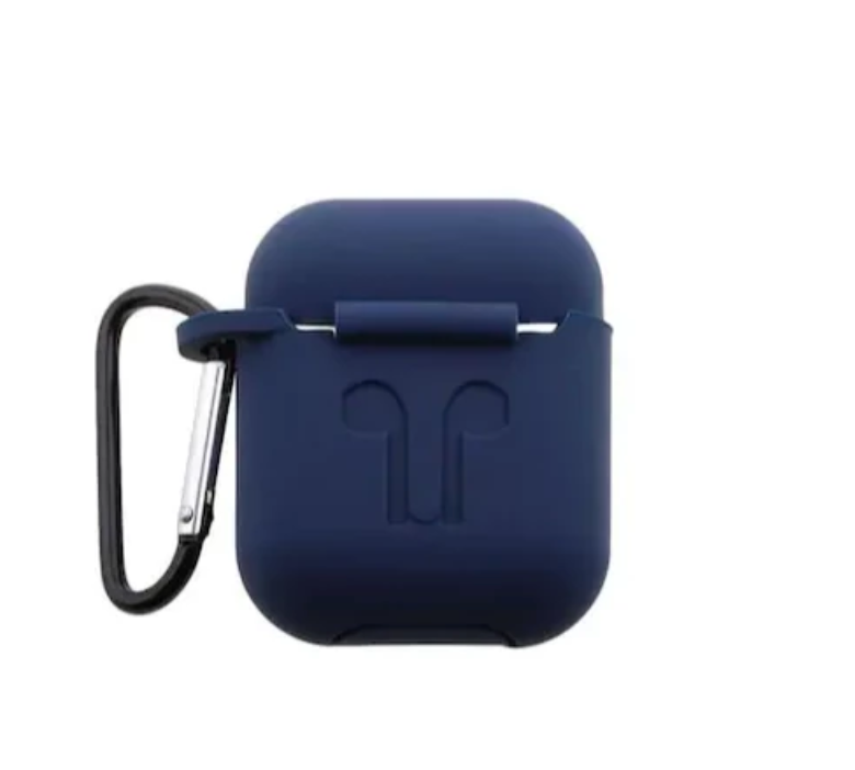 Solid Navy Blue AirPod Holder