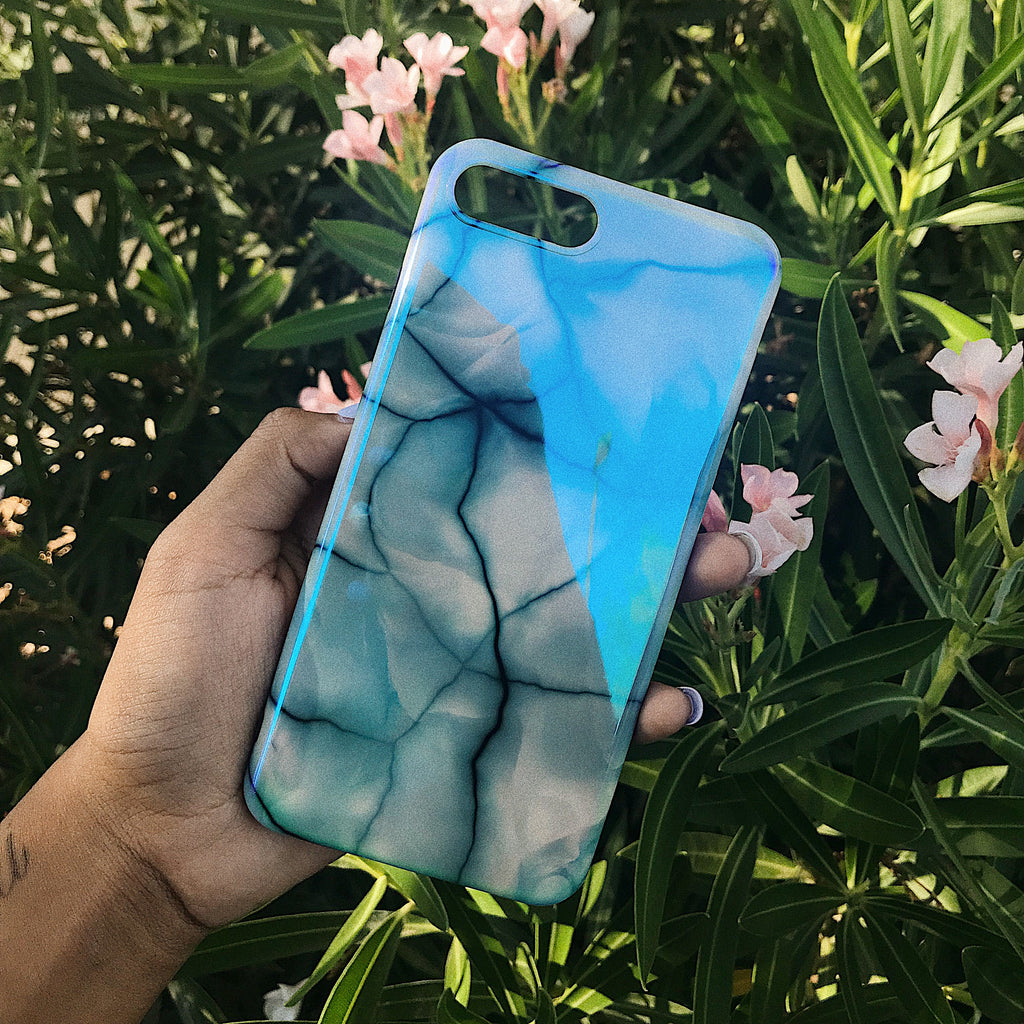 The Teal Vein Case, www.kaleicases.com, Scottsdale, AZ, Luxury iPhone Cases, Fast Shipping
