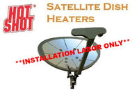 HotShot Dish Heater Installation Labor