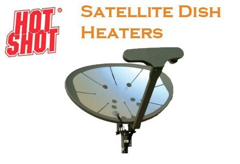 HotShot Dish Heater for HughesNet, Viasat, DIRECTV, or Dish Network