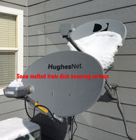 Hotshot Dish Heater improves signal reliability in snowy conditions