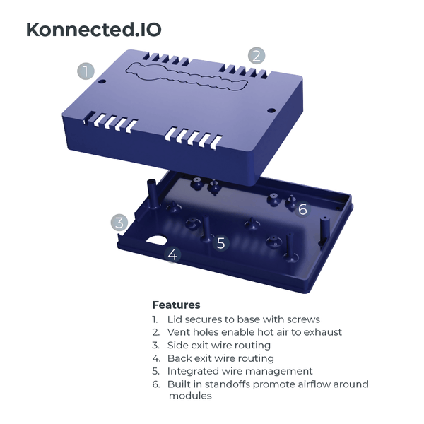 Enclosure for Konnected.IO