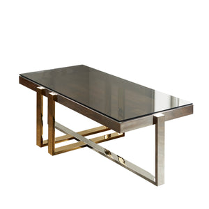 Nexus Gold and Silver Coffee Table
