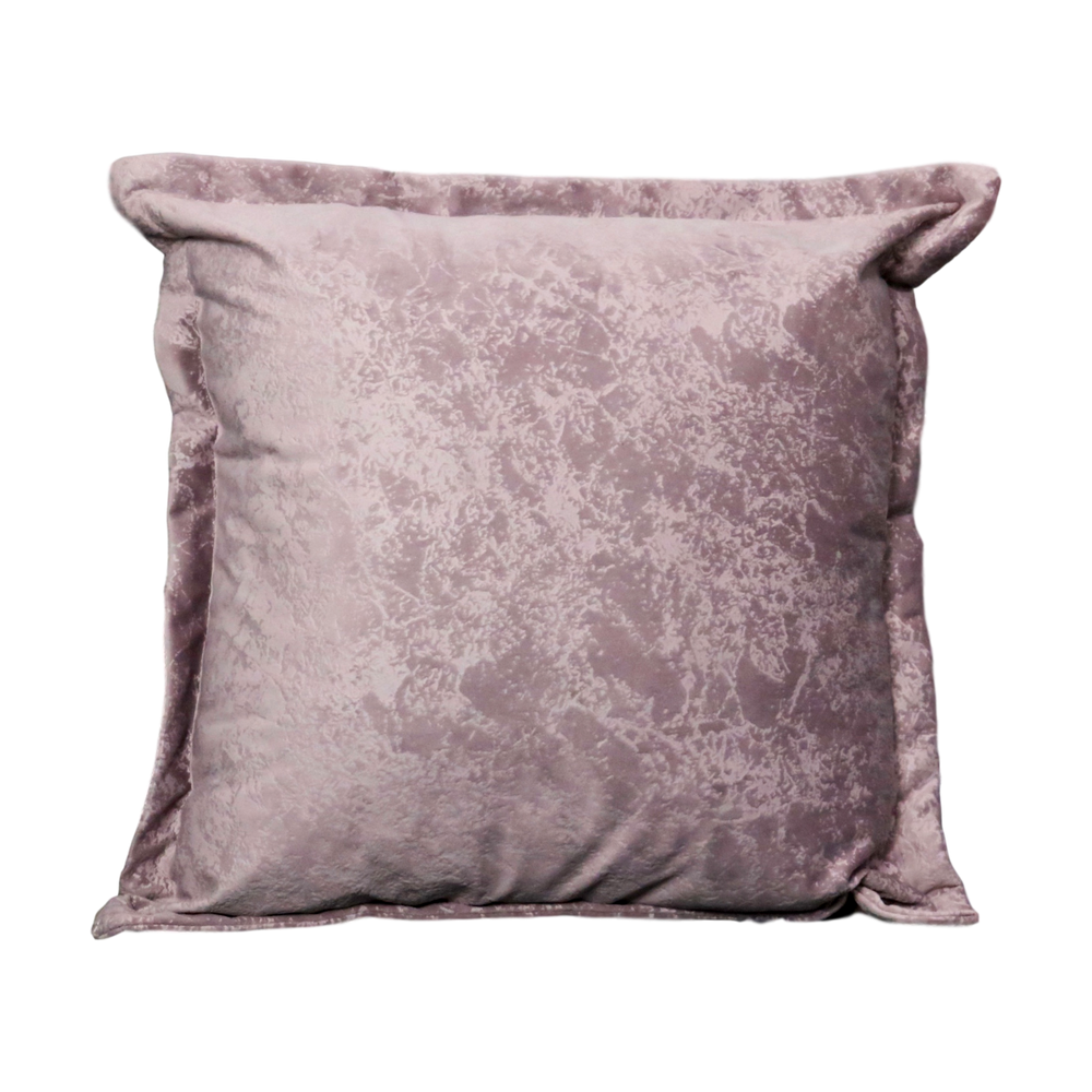 Pink Crushed Velvet Cushion
