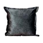 Luxury Grey Velvet Cushion