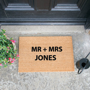 Personalised Artsy Doormats