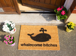 Whalecome Bitches Doormat